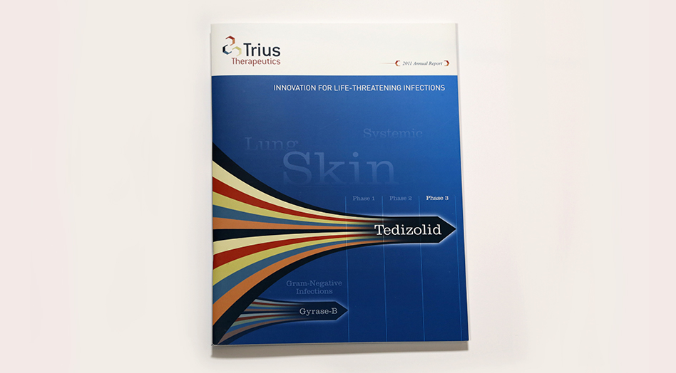 Trius Therapeutics Print Collateral 3