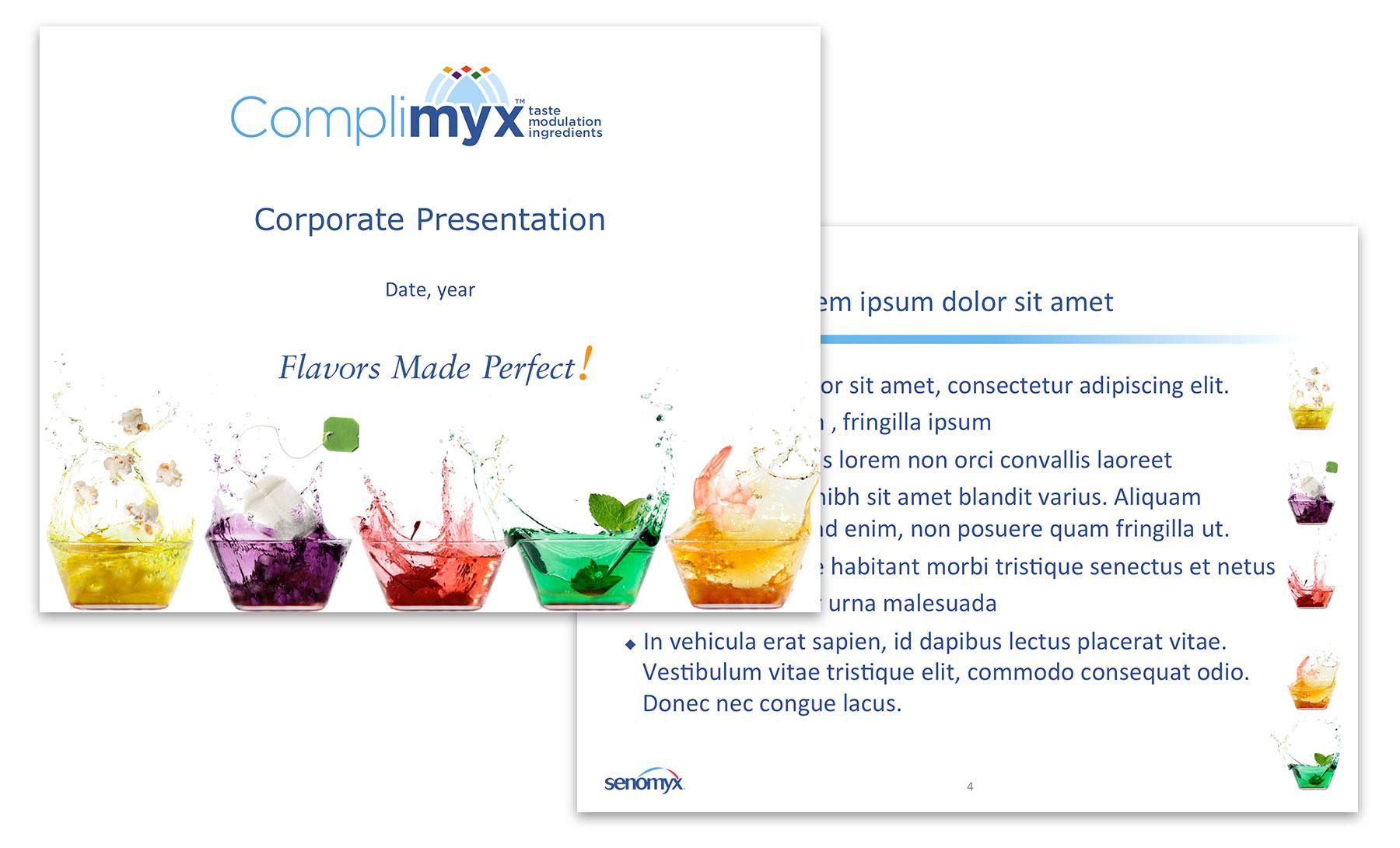 Senomyx Presentation Piece 1