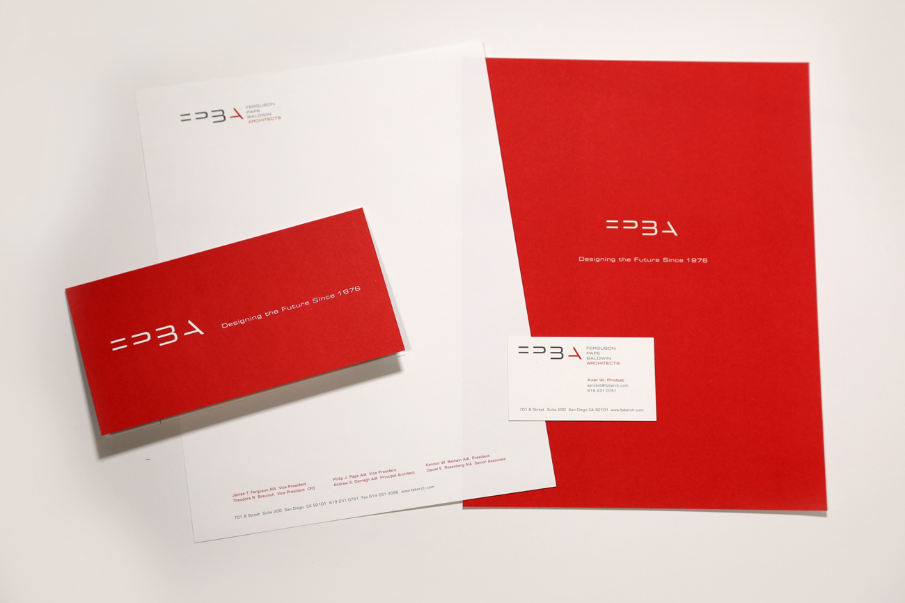 Ferguson Pape Baldwin Architects Print Collateral 2