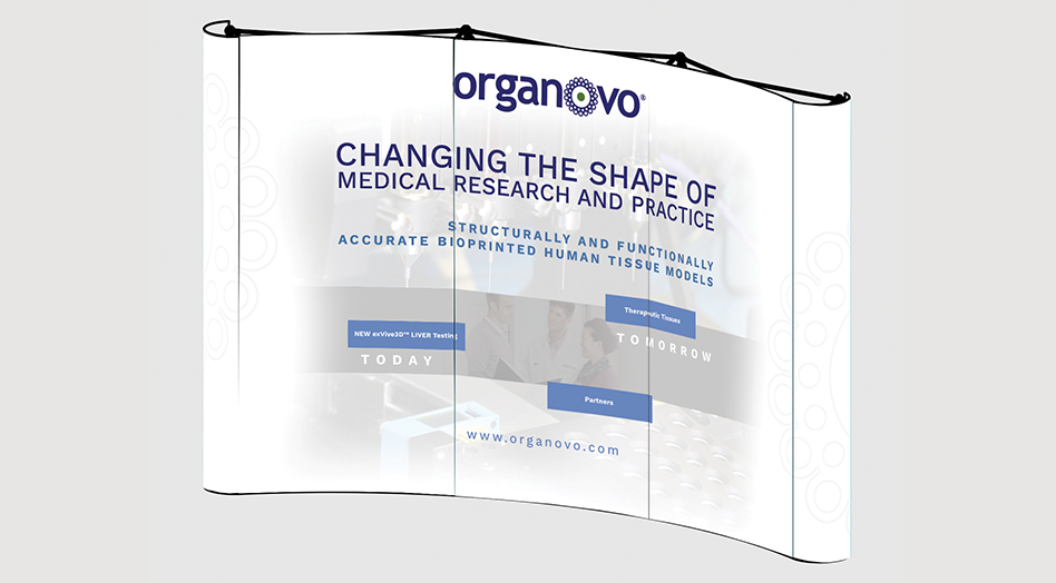Organovo Exhibit Design
