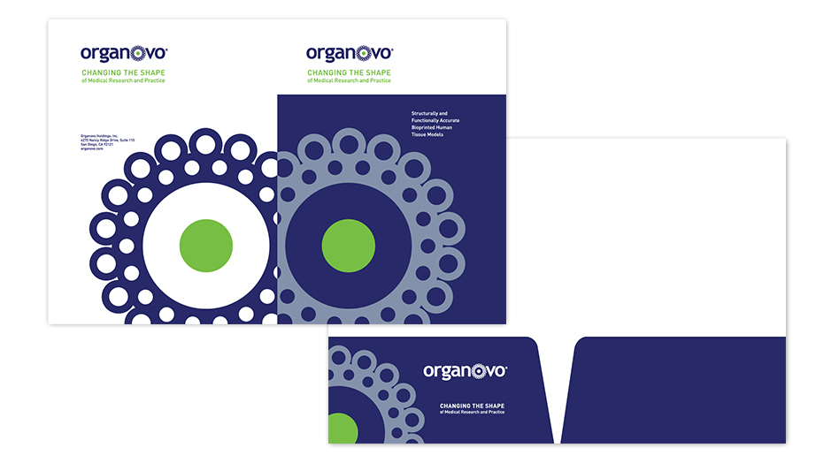Organovo Print Collateral Folder