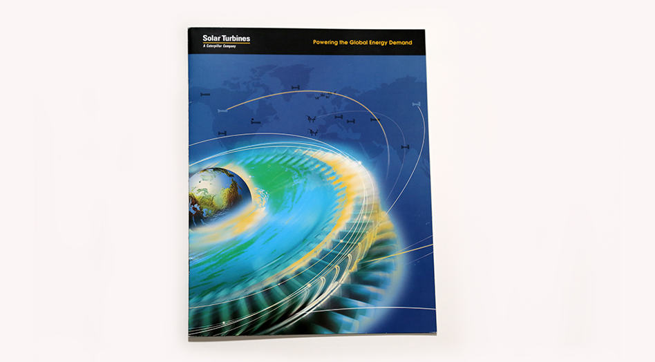 Solar Turbines Print Collateral 1
