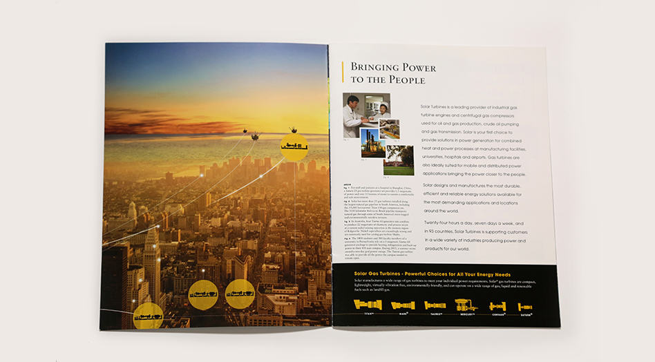 Solar Turbines Print Collateral 4