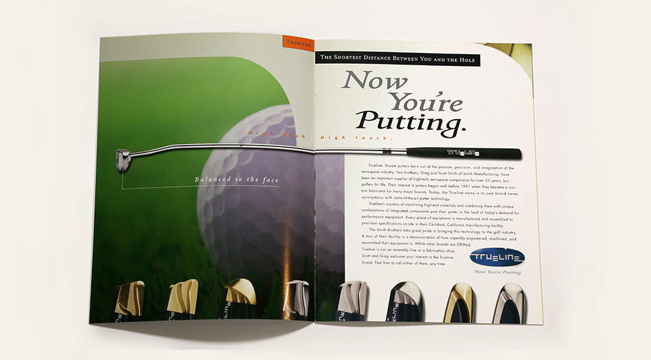 True Golf Print Collateral 2