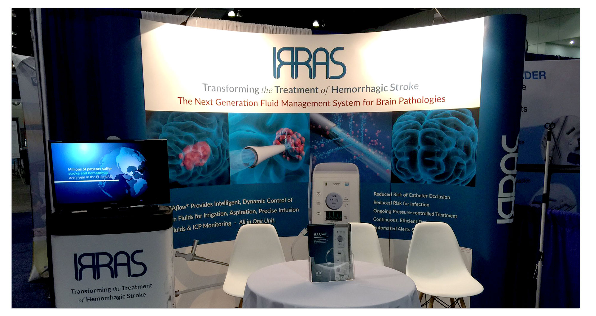 Irras Booth Exhibit